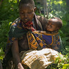 Hadza mother and child