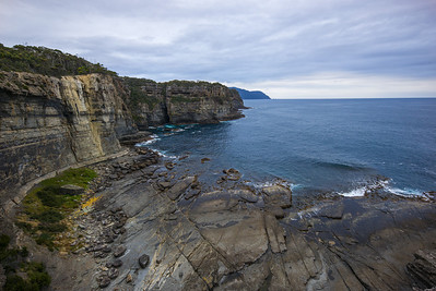 cliffs Tasman Peninsula
