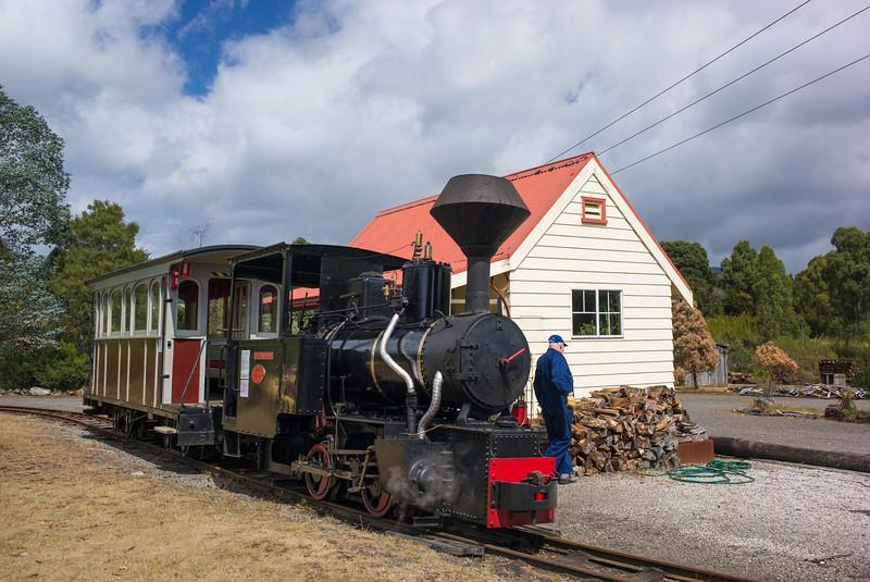 Wee George Wood Steam Train Tullah