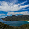 Wineglass Bay from lookout