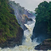 Victoria Nile river plunghing through Murchison Falls