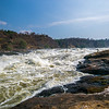 Nile before plunging into Murchison Falls