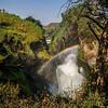 Murchison Falls gorge w rainbow