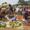 fruit sellers Ft Portal market