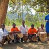 five drummers Kasiisi School