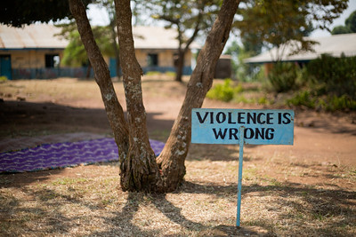 VIOLENCE IS WRONG Kasiisi School