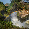 rainbow over Murchison Falls gorge