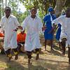 three young dancing men Kasiisi