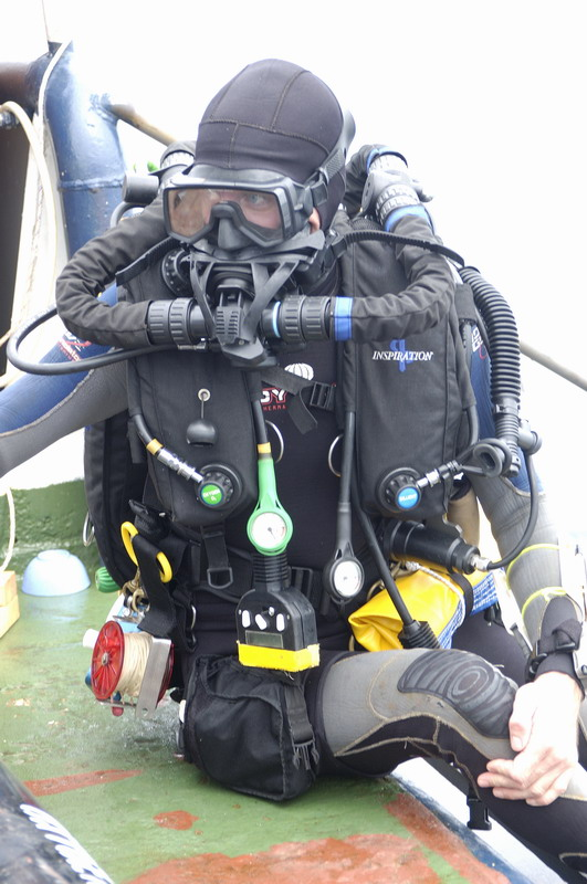 My inspiration rig prior to Repulse dive - not the most streamline