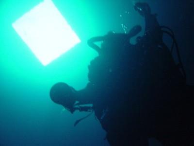 Anders ascending engine room