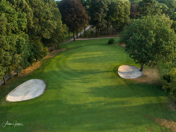 A very dry summer at Golfclub de Dommel