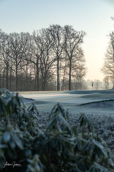 Morning walk at Golfclub de Dommel