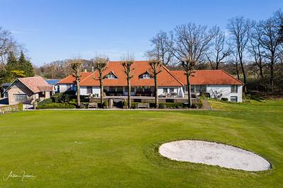 Empty Golfclub due to Corona virus