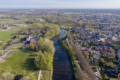 Sint Michielsgestel from a drone