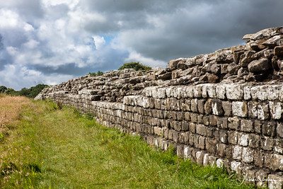 Birdolswald Hadrian's wall, UK
