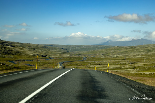 Driving route 76, Iceland