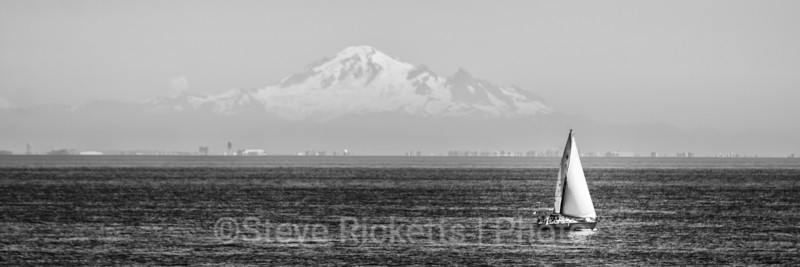 In the shadow of Mount Baker