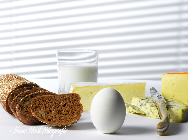 Kaas, brood en ei / Cheese, bread and egg