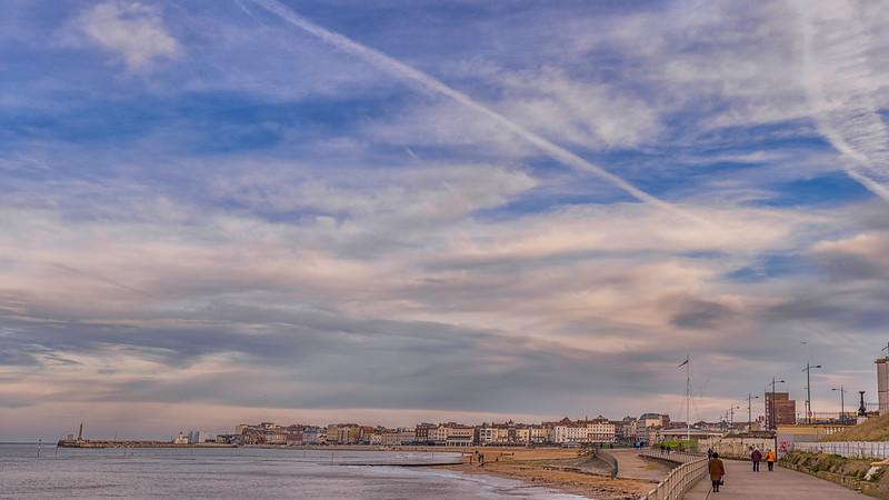 Margate Winter Sky