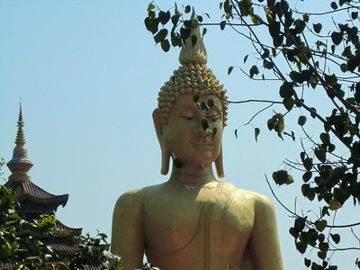 Large Outdoor Buddha Detail