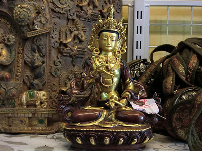 Vajrasattva statue from Nepal
