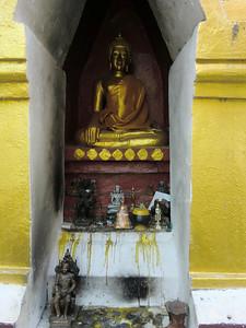 Temple niche, Buddha