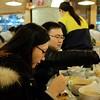 Enjoying meal at Tung Chung