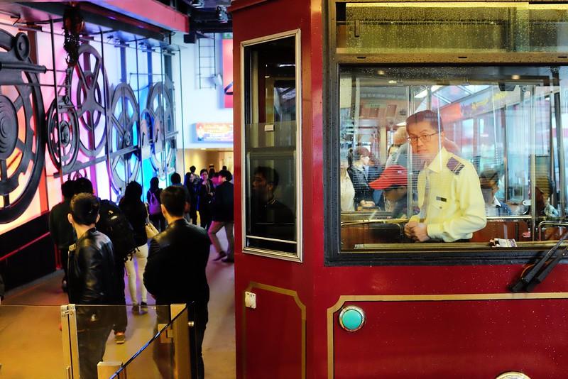 The Peak Tram: Hong Kong