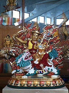 Manjushri Center: Dorje Shugdan shrine