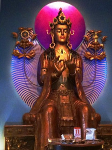 Maitreya at Manjushri Center
