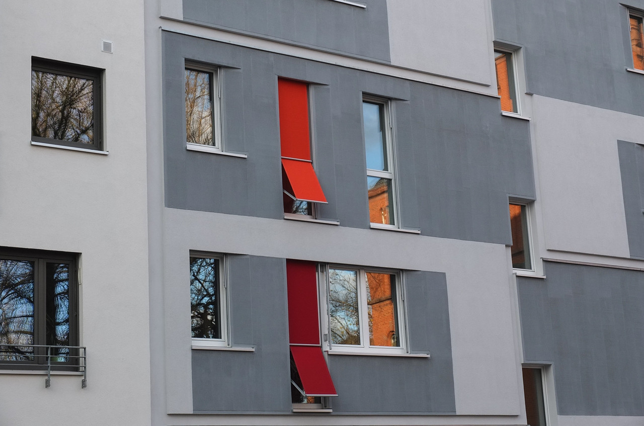 New apartments and reflections