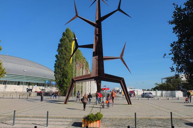 Expo 1998 site sculpture,  Parque das Nações