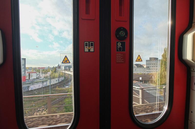 Train from Berlin to Oranienburg, Germany