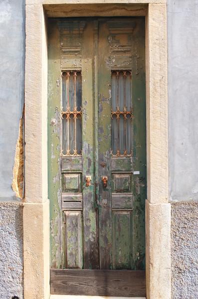 Typical doorway: green