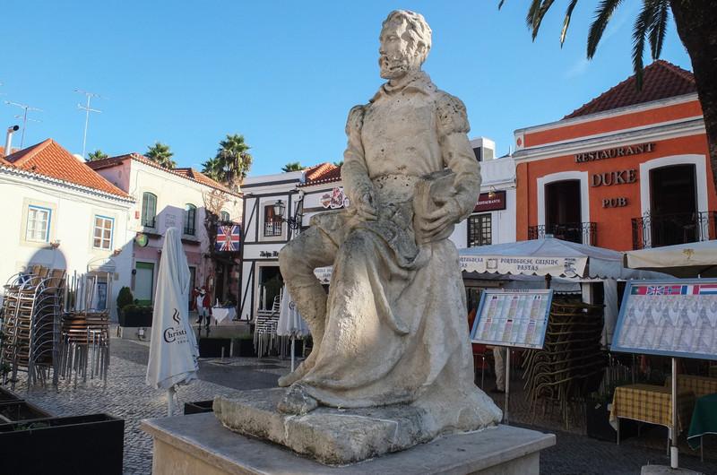 Explorer statue