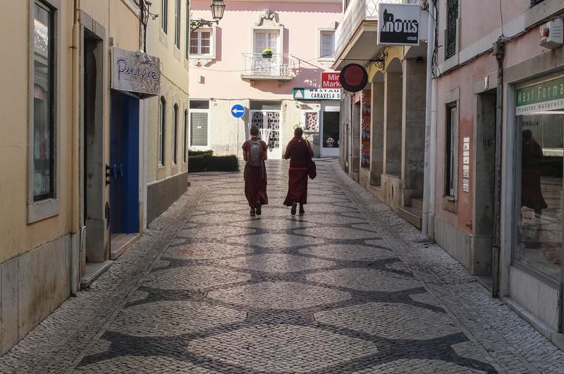 Two Buddhist nuns