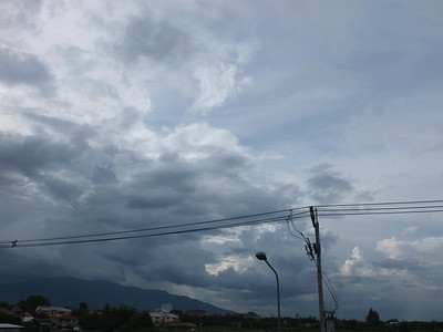 Chiang Mai sky: August
