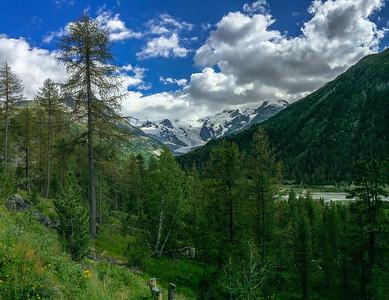 Bernina range, Switzerland