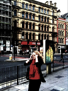 Manchester Streets. Walk