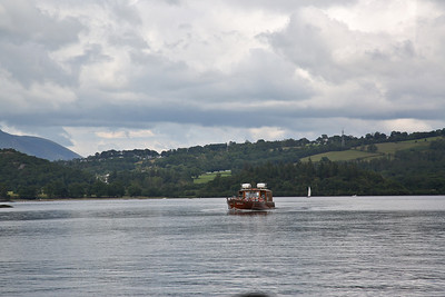 'Lady Derwentwater' passes by on a Anti-Clockwise cruise - 13/07/19