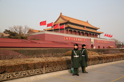 Forbidden City & Tian'anmen Square, Beijing, 20th January 2018
