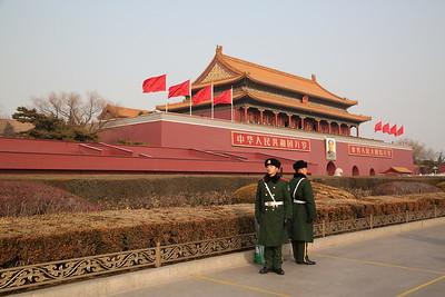 Forbidden City & Tian'anmen Square, Beijing, 20th January 2018
