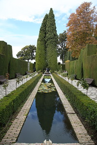 The Palacio de Generalife gardens - 18/11/18