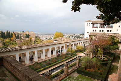 Inside the Palacio de Generalife - 18/11/18