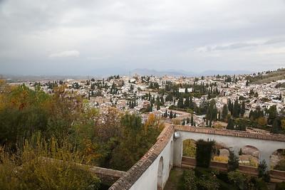 AlbaicÍn viewed from the Palacio de Generalife - 18/11/18