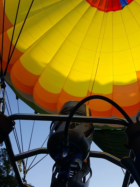 Hot air ballon ride 10.22.17
