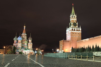 Moscow sights, 8th-11th October 2016