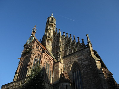 Frauenkirche (Church of Our Lady), Nürnberg - 31/12/16.