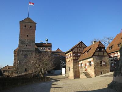 Nürnberg Castle - 31/12/16.
