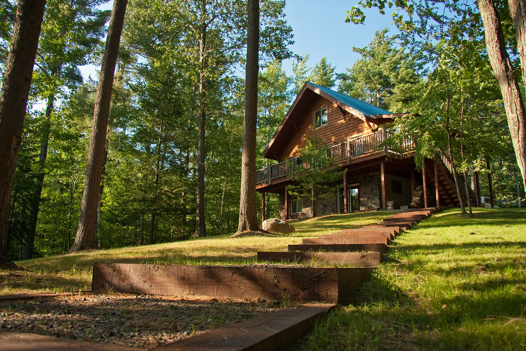 Our cabin in the woods of Jay, NY